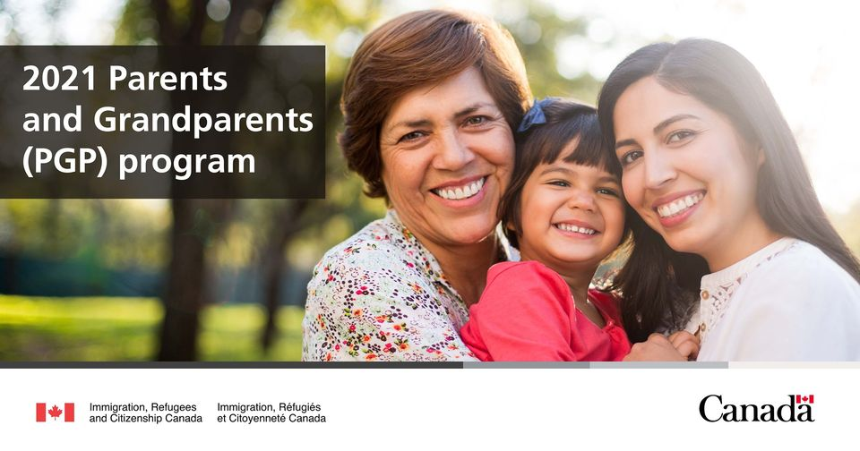 IRCC to accept a record number of applications for the 2021 Parents and Grandparents Program